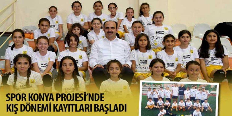 Spor Konya Projesi'nde Kış Dönemi Kayıtları Başladı