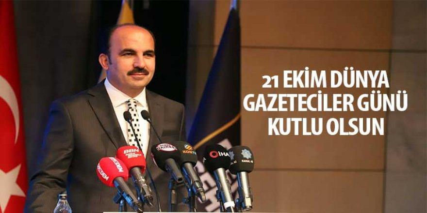 21 Ekim Dünya Gazeteciler Günü Kutlu Olsun