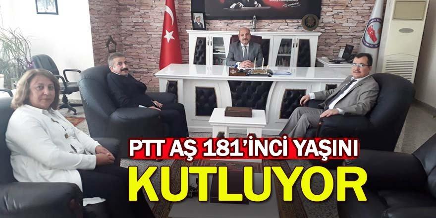 PTT Ereğli Müdürlüğü Kaymakam Çakıcı'yı Ziyaret Etti