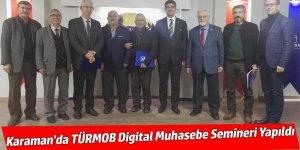 Karaman'da TÜRMOB Digital Muhasebe Semineri Yapıldı