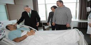 Başbakan Yıldırım Ankara'da Ereğlili Hastayı Ziyaret Etti