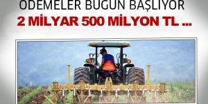 Çiftçilere Mazot ve Gübre Desteği Ödemeleri Bugün Başlıyor