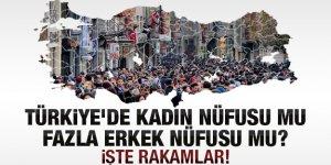 Türkiye nüfusunun %49,8'ini kadın nüfus oluşturdu