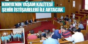 Konya'nın Yaşam Kalitesi Şehir İstişareleri ile Artacak