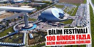 Bilim Festivali 100 Binden Fazla Bilim Meraklısını Ağırladı