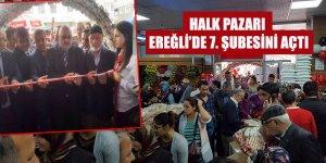 Halk Pazarı Ereğli'de 7. Şubesini Açtı