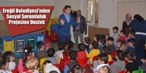 Ereğli Belediyesi'nden Sosyal Sorumluluk Projesine Destek