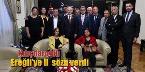 CHP İlçe Başkanı Gönülal ve Yönetimi Genel Başkan Kılıçdaroğlu'yla Bir Araya Geldiler