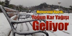 Yer Yer Yoğun Kar Yağışı Bekleniyor!