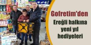 Gofretim'den Ereğli halkına yeni yıl hediyeleri