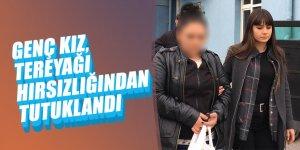 Genç Kız, Tereyağı Hırsızlığından Tutuklandı