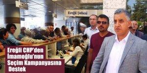 Ereğli CHP'den İmamoğlu'nun Seçim Kampanyasına Destek