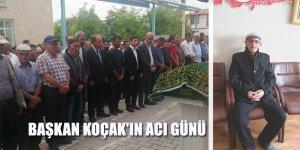 Emirgazi Belediye Başkanı Nurişen Koçak'ın kayınbabası hayatını kaybetti