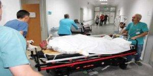 Kazaya yardıma koştu, elektrik akımına kapıldı