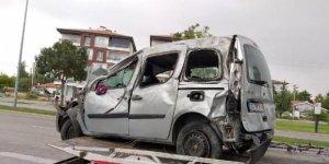 Bayram tatili dönüşü kaza: 1'i çocuk 6 yaralı