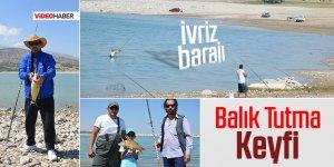 İvriz Barajı'nda Balık Tutma Keyfi