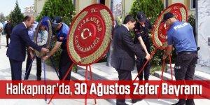 Halkapınar'da, 30 Ağustos Zafer Bayramı