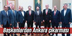 Başkanlardan Ankara çıkarması