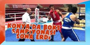 Konya'da boks şampiyonası sona erdi