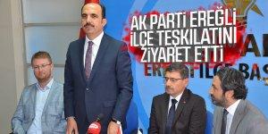 Altay, AK Parti Ereğli İlçe Teşkilatını Ziyaret Etti