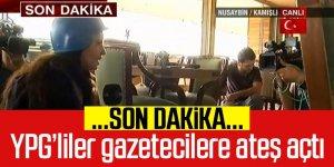 Son Dakika! Canlı yayında gazetecilerin olduğu restorana ateş açıldı