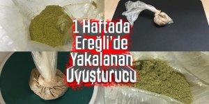 Ereğli 'de Uyuşturucu Ticaretine 5 Tutuklama