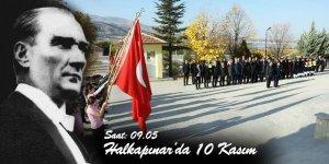 Halkapınar'da 10 Kasım Anma programı gerçekleştirildi