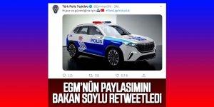 İşte yerli polis aracı