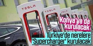 Türkiye'de 'Supercharger'lar nerelerde var