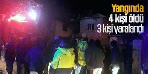 Yangında 2'si çocuk 4 öldü, 3 kişi yaralandı