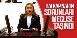 Halkapınar'ın sorunları meclise taşındı