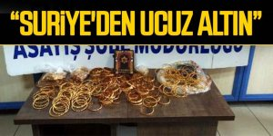 Sahte altınla dolandırıcılık yapmak isteyen Suriyeliler, yakalandı