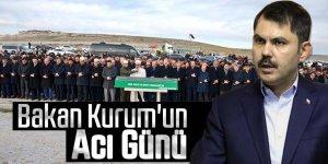 Bakan Kurum'un amcası son yolculuğuna uğurlandı