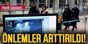 İstanbul Havalimanı'nda termal kameralı önlem devam ediyor
