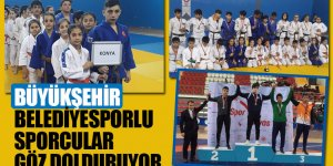Büyükşehir Belediyesporlu Sporcular Göz Dolduruyor