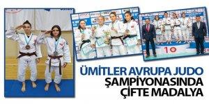 Ümitler Avrupa Judo Şampiyonasında Çifte Madalya