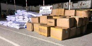 3 bin 650 kilo kaçak tütün ele geçirildi