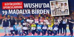 Wushu'da 19 Madalya Birden