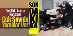 Ereğli'de Elektrik çarpması sonucu 3 kişi yaralandı