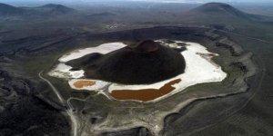 Meke Gölü'nü, modern sulama kurtarır