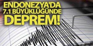 Endonezya'nın Kuzey Maluku eyaleti açıklarında 7.1 büyüklüğünde deprem!