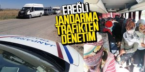JANDARMA TRAFİKTEN DENETİM