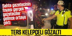 Sahte Gazeteciye Ters Kelepçeli Gözaltı ve Ceza