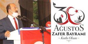 Halkapınar Belediye Başkanı Bakkal'dan 30 Ağustos mesajı
