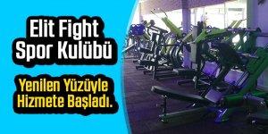 Elit Fight Spor Kulübü Uğur Mumcu Caddesinde Ergenekon Parkı ilerisinde yenilen yüzüyle hizmete başladı.