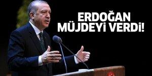Cumhurbaşkanı Erdoğan Müjdeyi Verdi