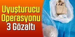 Ulukışla'da uyuşturucu operasyonu: 3 gözaltı