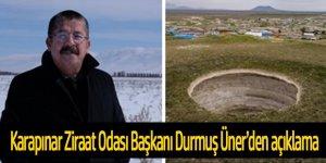 'Karapınar obruk bölgesi olması nedeniyle su kullanımında günah keçisi ilan ediliyor'