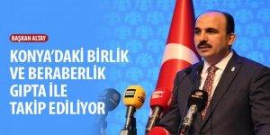 Başkan Altay:Gündemdeki konuları ve yatırımları değerlendirdi