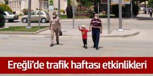 Ereğli'de trafik haftası etkinlikleri
